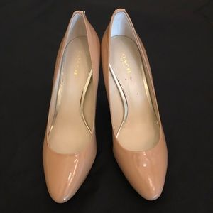 Coach Nude Platform Pumps